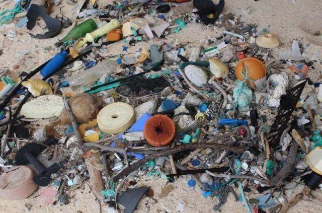 The World's Trashiest Beach on Henderson island