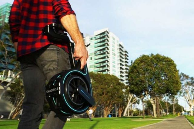Smacircle S1, the scooter that fits in your backpack (6)