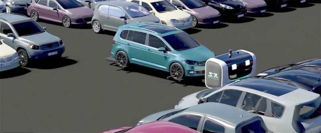 The first Outdoor Valet Parking robot (4)