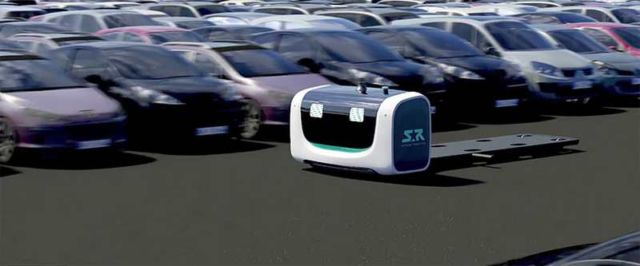 The first Outdoor Valet Parking robot (3)