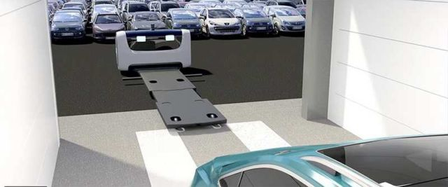 The first Outdoor Valet Parking robot (1)
