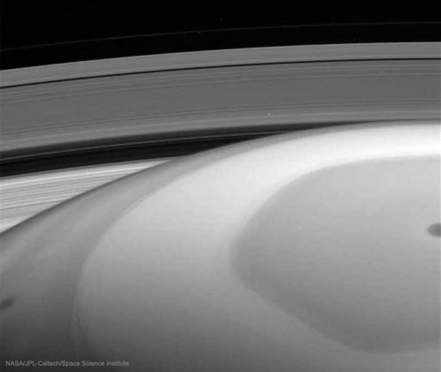 Cassini images from Saturn's Rings