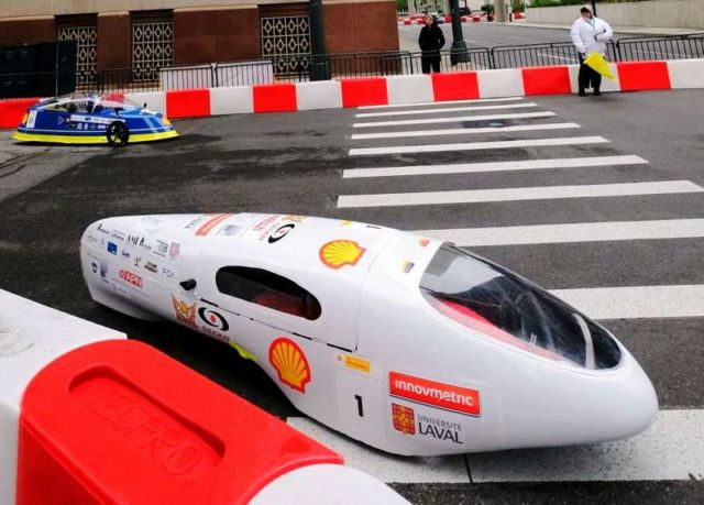 This car could cross almost the entire U.S. on one gallon of gas