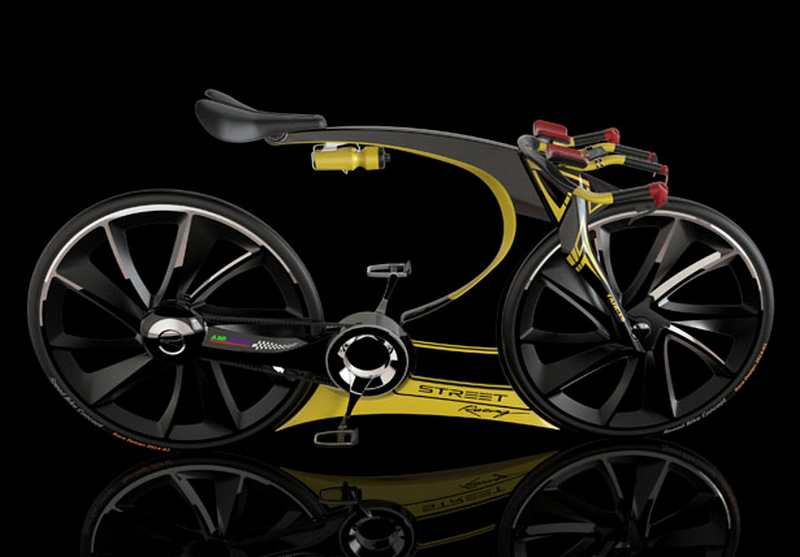 Electric Cargo Bike >> Triathlon Race Bike concept | wordlessTech