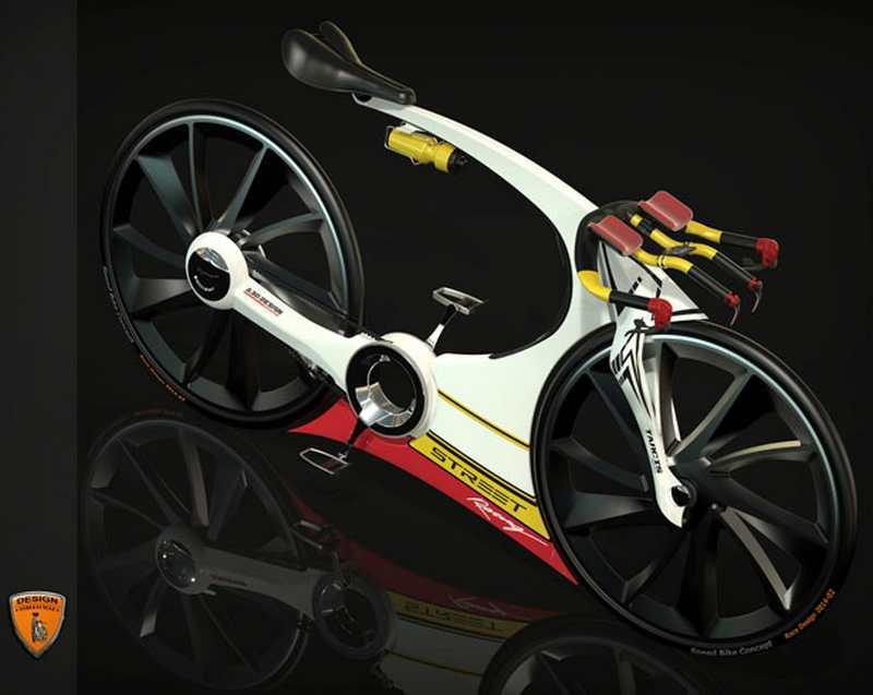 Carbon Fiber Bikes >> Triathlon Race Bike concept | wordlessTech