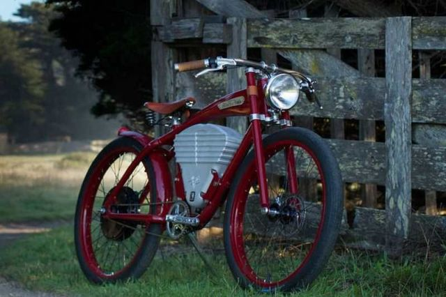 Vintage Electric Tracker Bicycle (4)