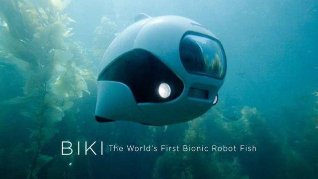 World's First Wireless Underwater Drone