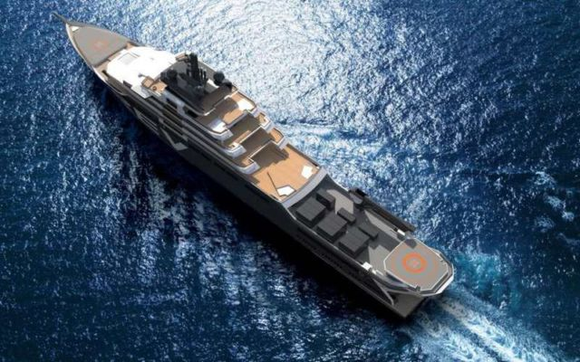 World's largest yacht to Help Save the Ocean