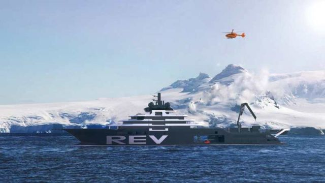 World's largest yacht to Help Save the Ocean (3)