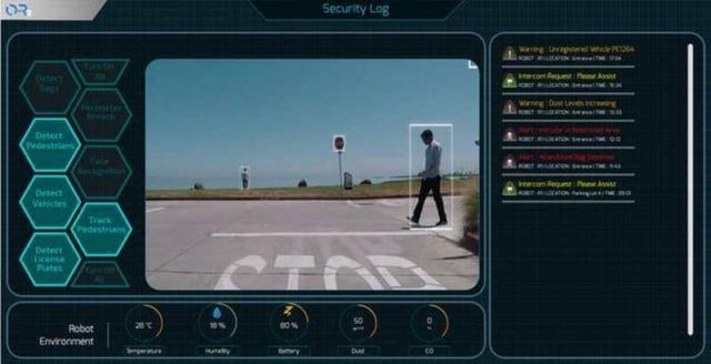 Otsaw Robotics O-R3 security robot (2)