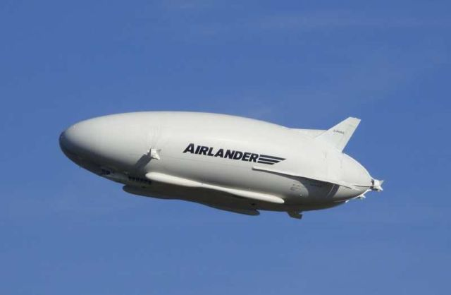 World's largest aircraft returns to the Skies