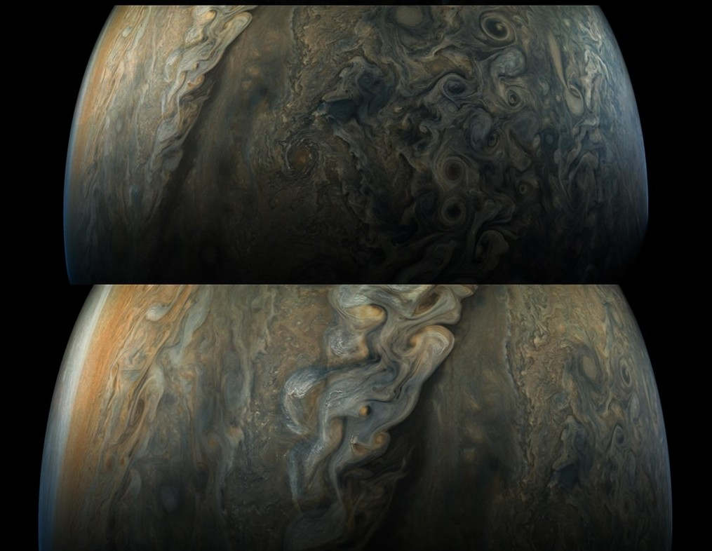 Amazing new images of Jupiter