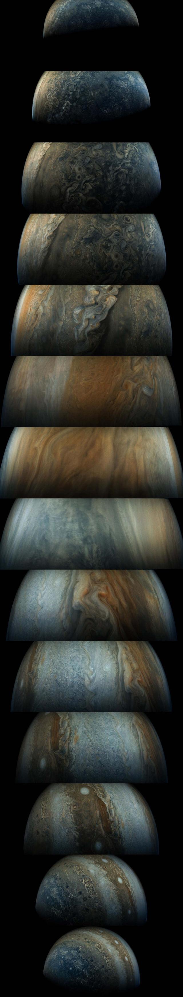 Amazing new images of Jupiter