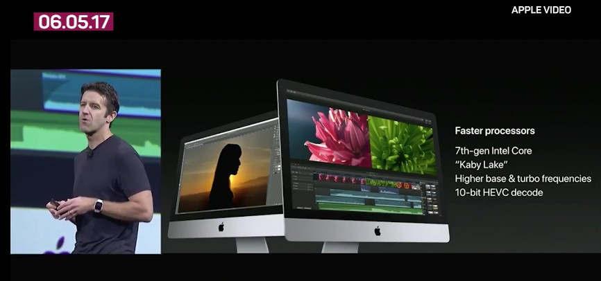 Apple's WWDC 2017 keynote in a video