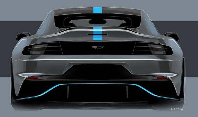 Aston Martin all-electric RapidE