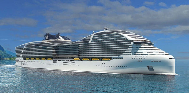 Biggest passenger capacity Cruise Ship in the world