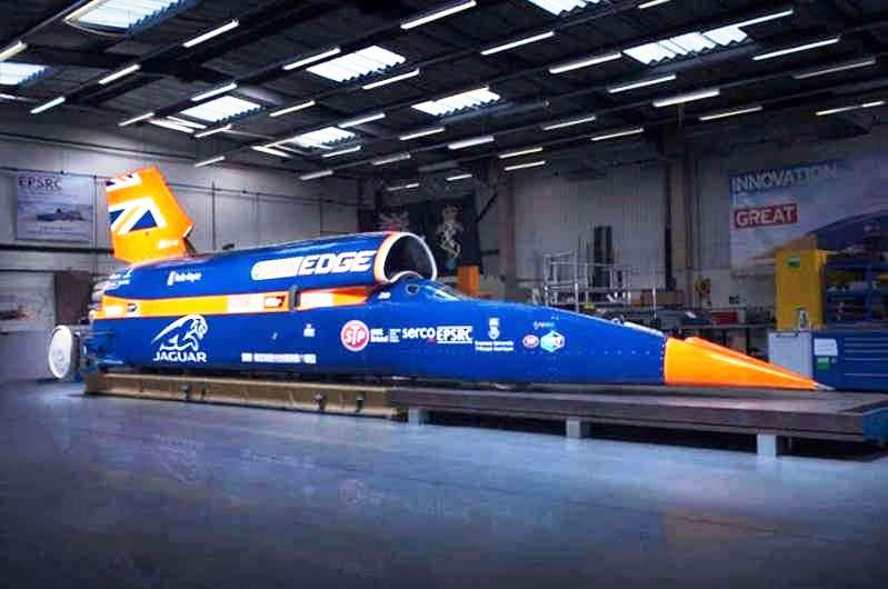 Bloodhound Supersonic Car (5)