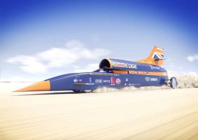 Bloodhound Supersonic Car (2)