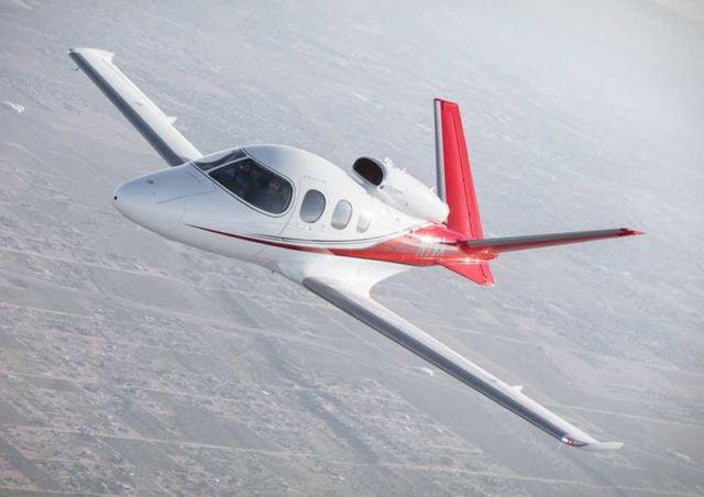 Cirrus SF50 Vision personal jet