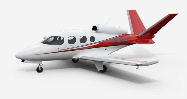 Cirrus SF50 Vision personal jet (2)