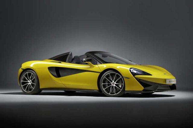 Convertible McLaren '650S Spider'
