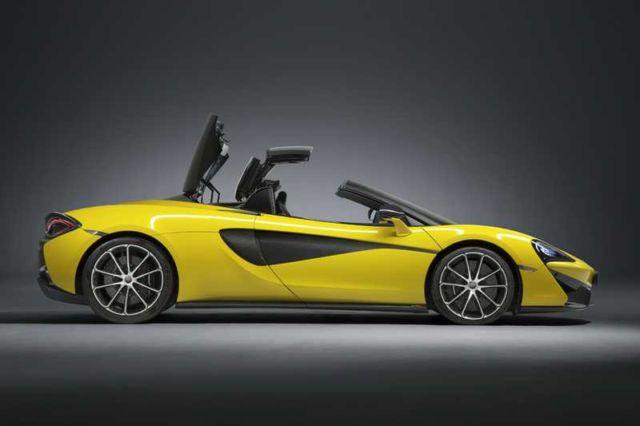 Convertible McLaren '650S Spider' (8)