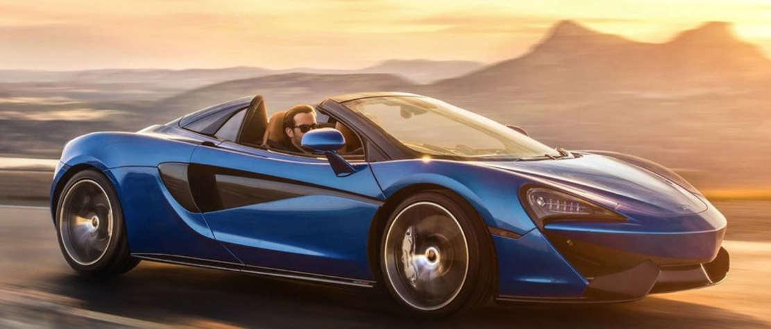 Convertible McLaren '650S Spider' (1)