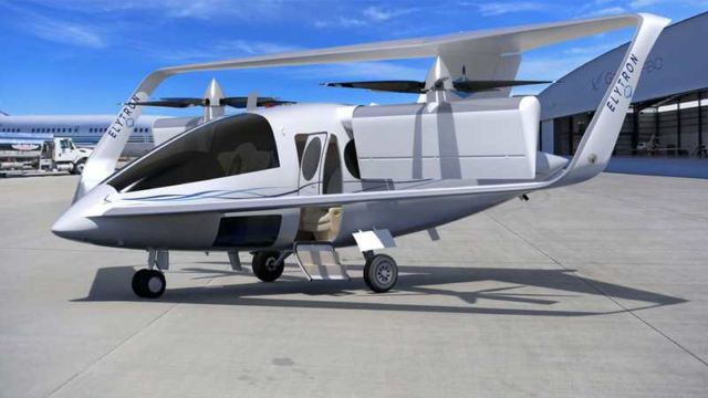 Elytron VTOL air-taxi concept