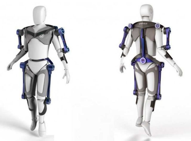 Exoskeletal Exercise Device for Space