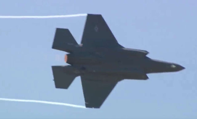 F-35 First Aerial Demonstration