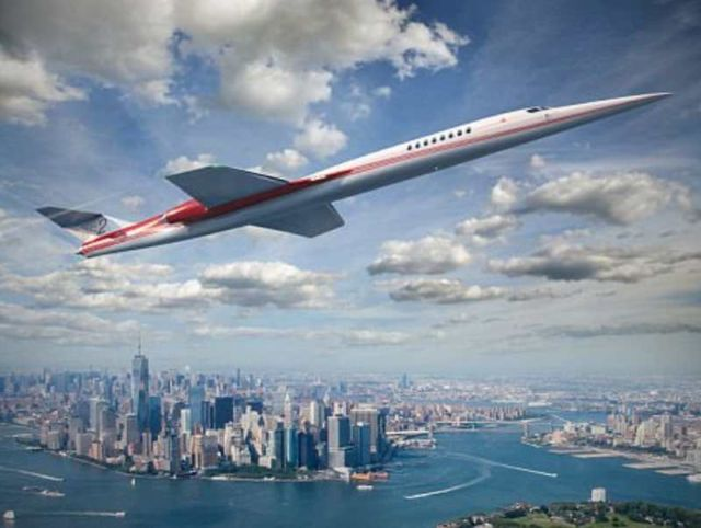 GE to provide engines for the 'Son of Concorde'