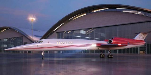 Aerion AS2 supersonic plane (4)