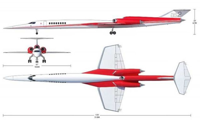 Aerion AS2 supersonic plane (3)