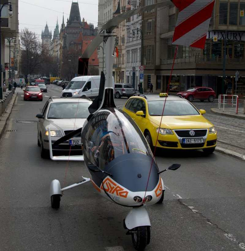 GyroDrive is world first road-certified flying car | wordlessTech
