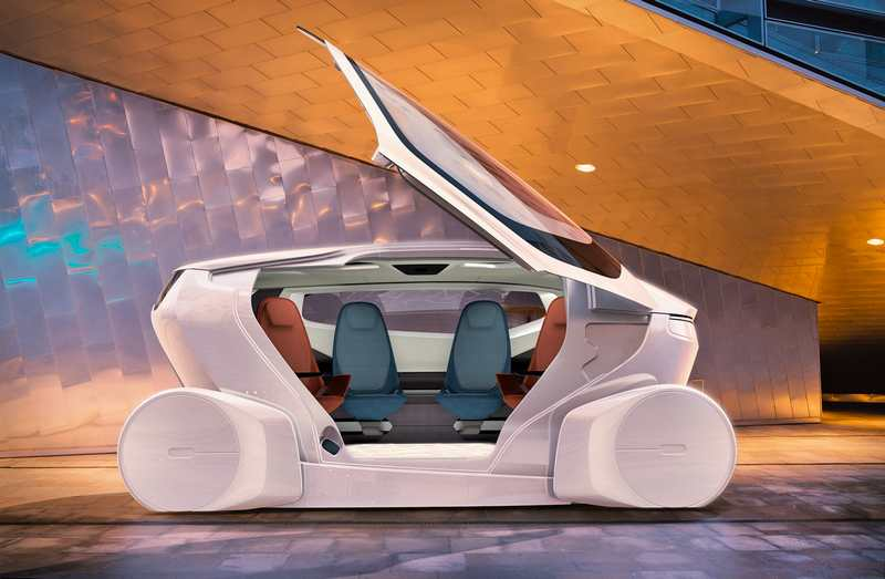 InMotion Self-driving concept