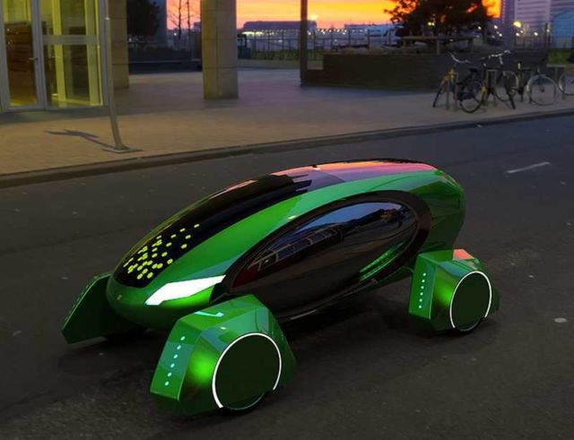 Kar-Go self-driving robot
