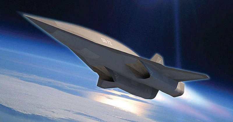 SR-72 Mach 6 prototype