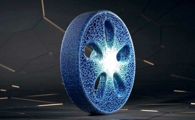 Michelin new 3D-printed Airless Tire