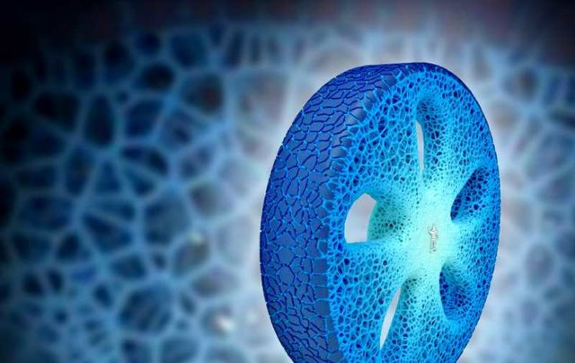Michelin new 3D-printed Airless Tire (3)