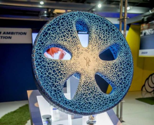 Michelin new 3D-printed Airless Tire (2)