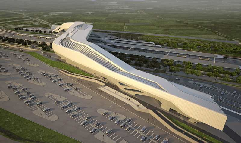 Napoli Afragola Station by Zaha Hadid (8)