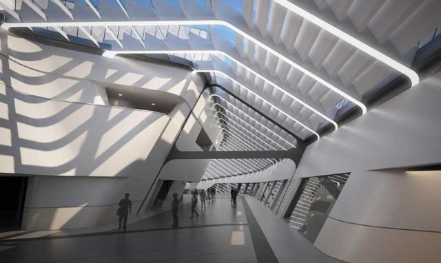 Napoli Afragola Station by Zaha Hadid (2)