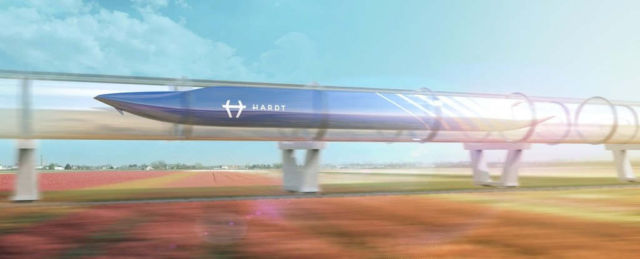 New Hyperloop to Connect Amsterdam and Paris by 2021