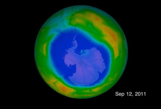 Ozone recovery delayed by not controlled Chemicals