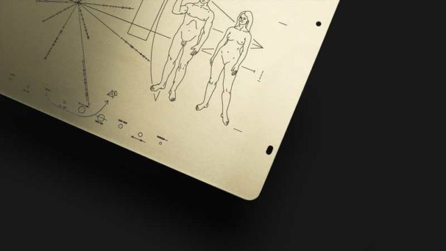 Pioneer Plaque - A Message from Earth