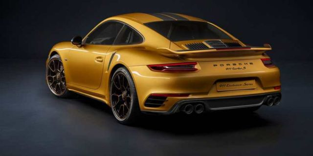 Porsche 911 Turbo S Exclusive Series (5)