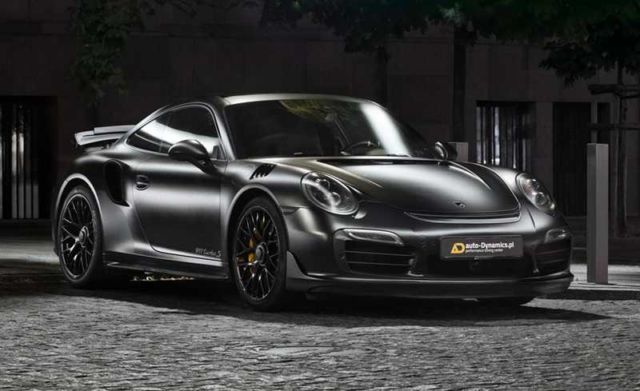 Porsche Dark Knight 911 Turbo S (6)