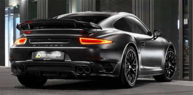 Porsche Dark Knight 911 Turbo S (5)