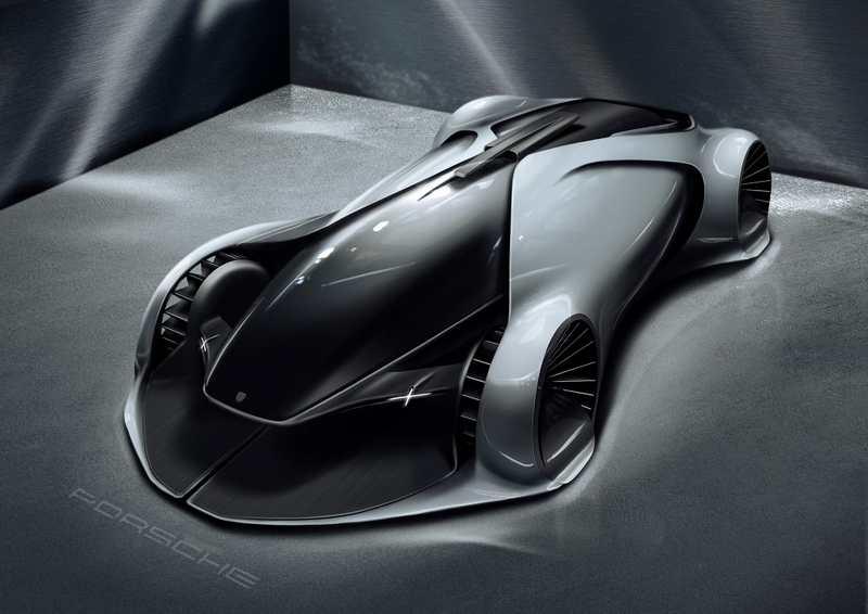 Porsche X concept | wordlessTech  Porsche X conce...