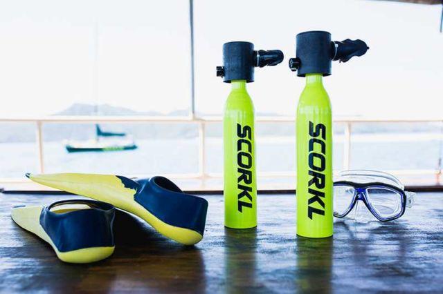Scorkl - Portable Breathing underwater system